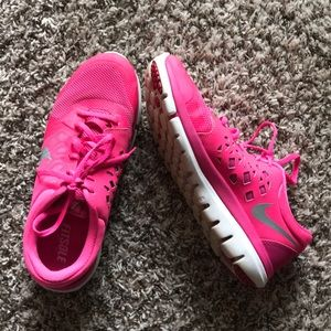 Nike Flex Hot Pink Running Sneakers size 8.5